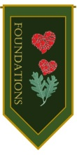 Foundations Banner Green
