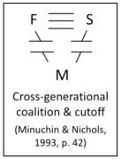 minuchin cross-gen diagram